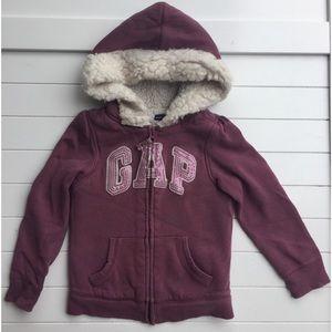 Girls Full Zip Gap Hoodie, 5T